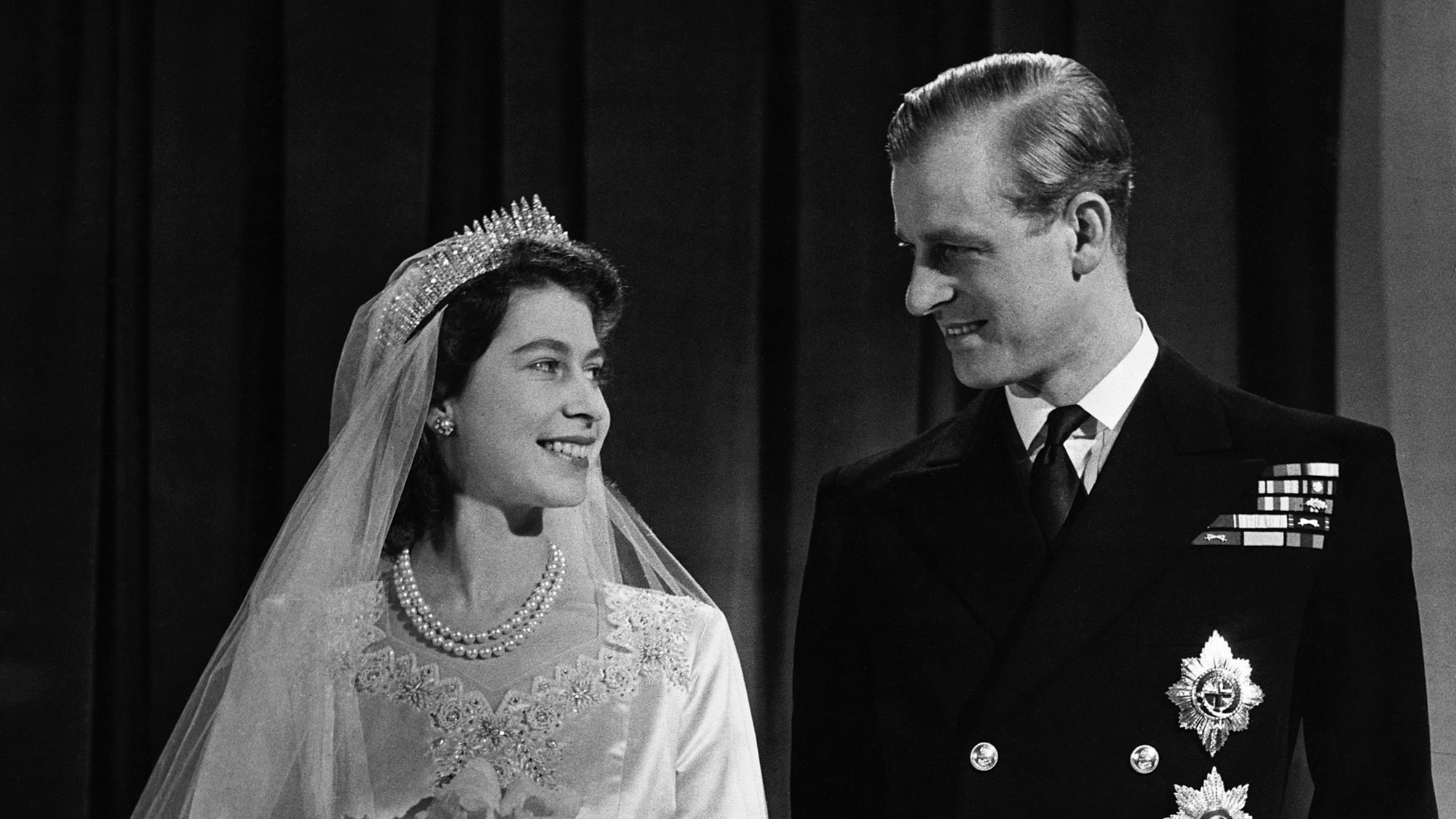 The Queen almost suffered a fashion fail on her wedding day