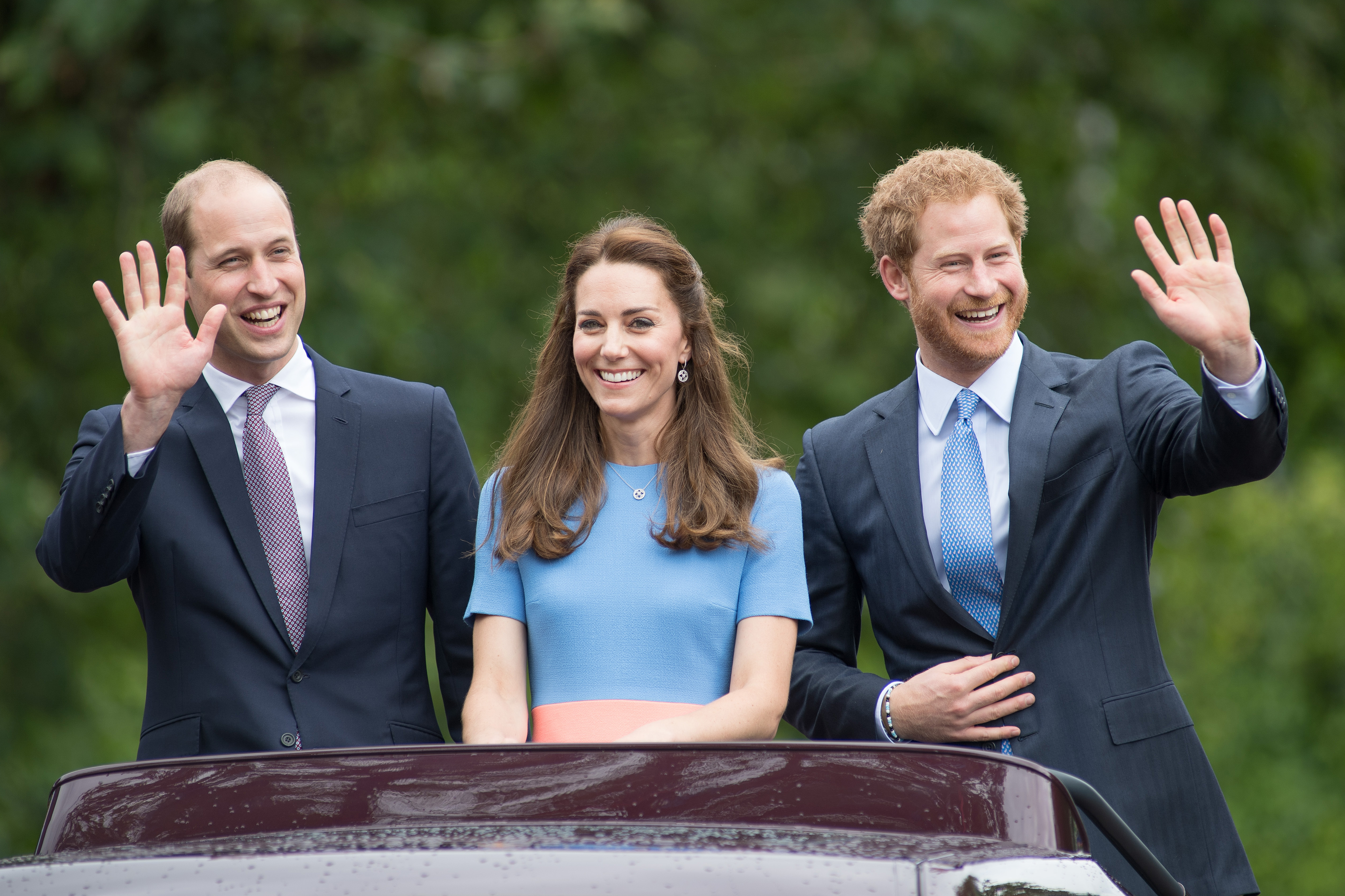 Prince Harry was apparently supposed to be Prince William's 'secret weapon'