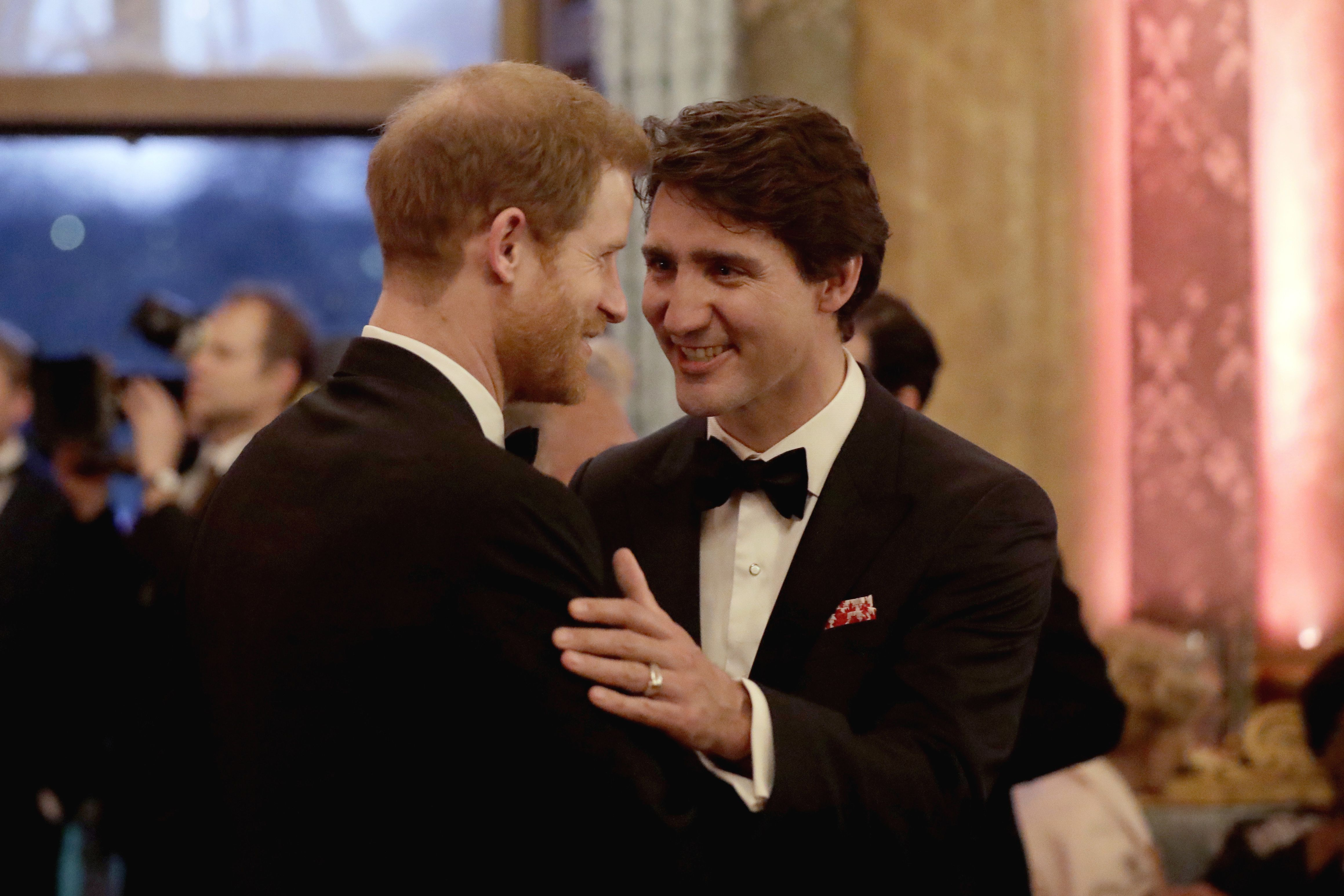 Justin Trudeau has addressed Prince Harry and Meghan Markle's move to Canada