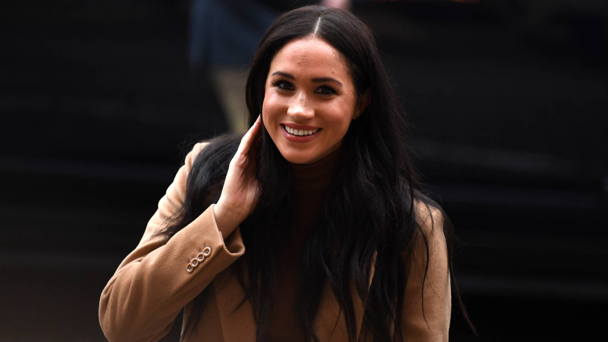 Meghan Markle was spotted at a women's shelter in Canada