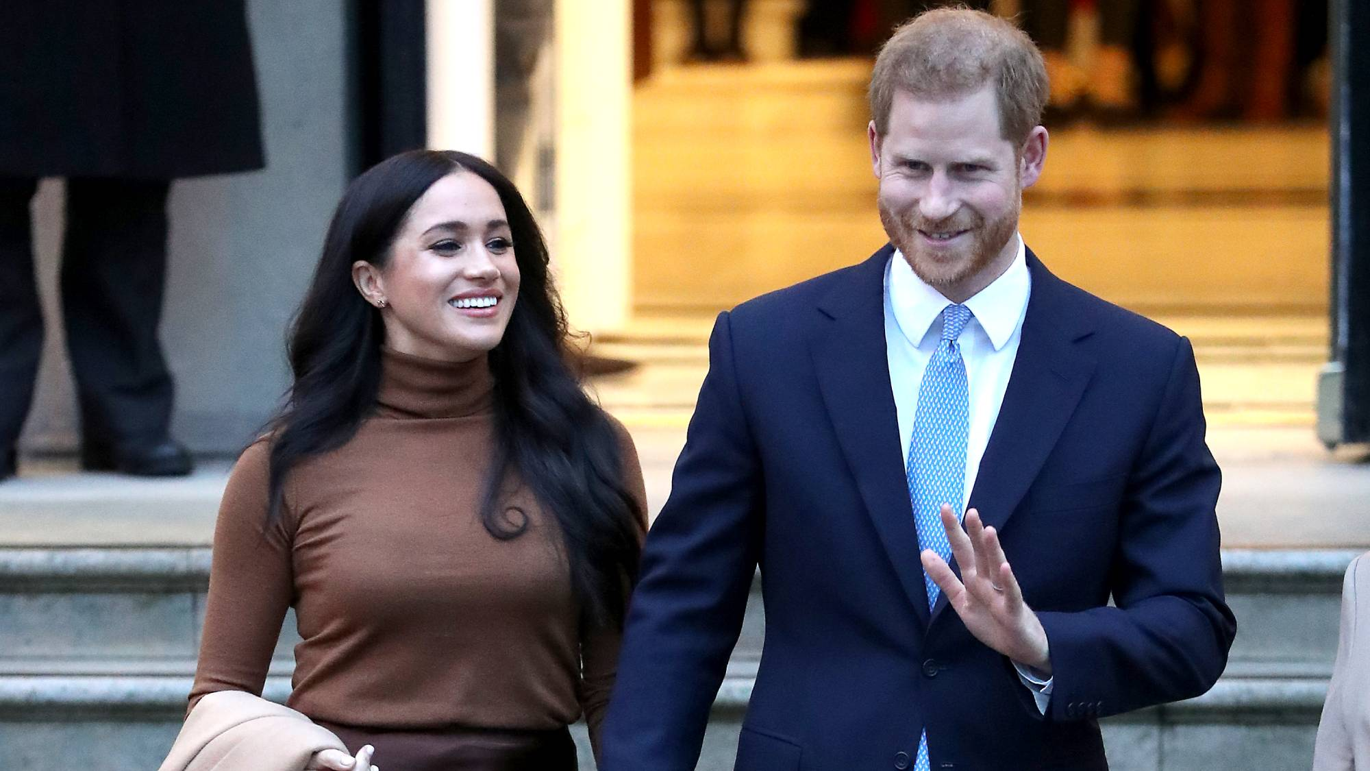 Is this why Meghan, Kate and the Queen have all chosen to wear brown lately?