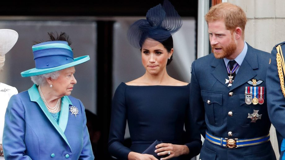 prince harry meghan markle queen crisis talks 1198421583