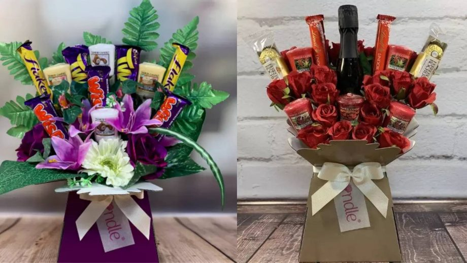 yankee candle bouquets
