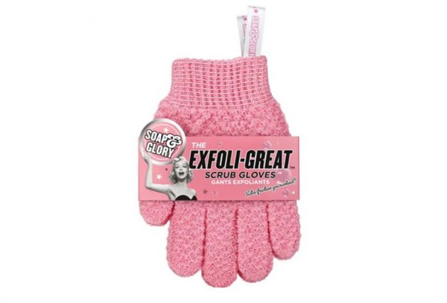 how to remove fake tan exfoliating gloves