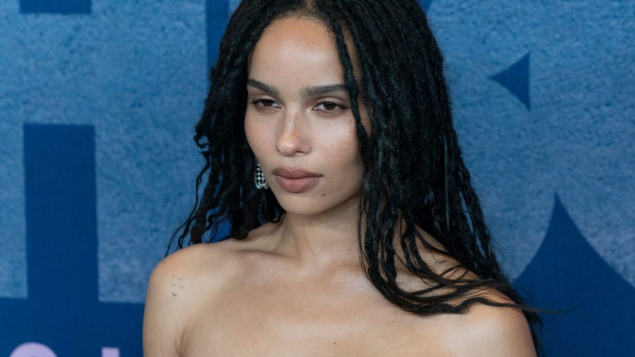 Zoe Kravitz Just Shared Pictures Of Her Wedding Dress