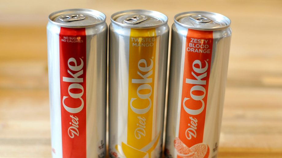 Diet Coke have released a new zesty lime flavour