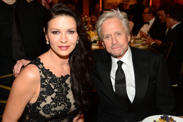 Catherine Zeta-Jones just posted a loving tribute to Michael Douglas | Marie Claire