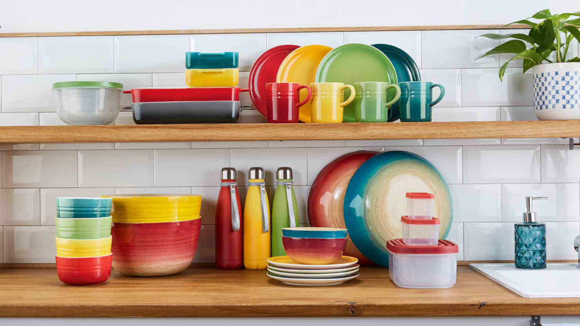 Lidl just launched a rainbow cookware set that looks like Le Creuset