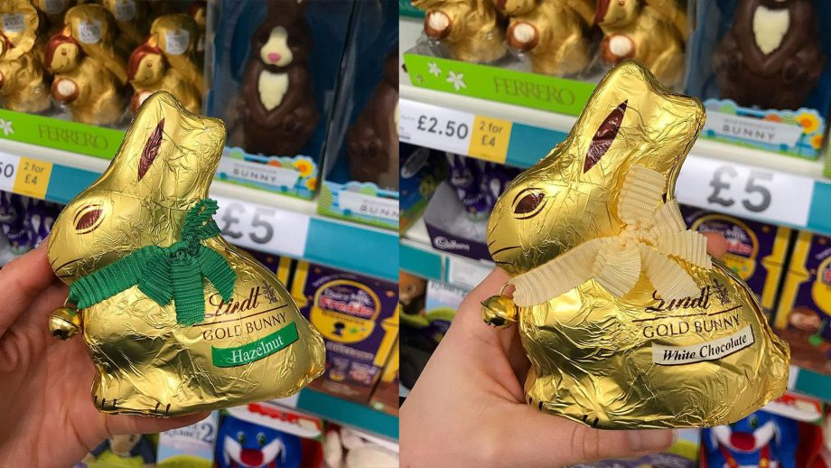 New Lindt chocolate bunny flavours