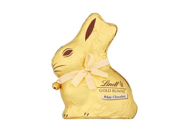Lindt white chocolate bunny