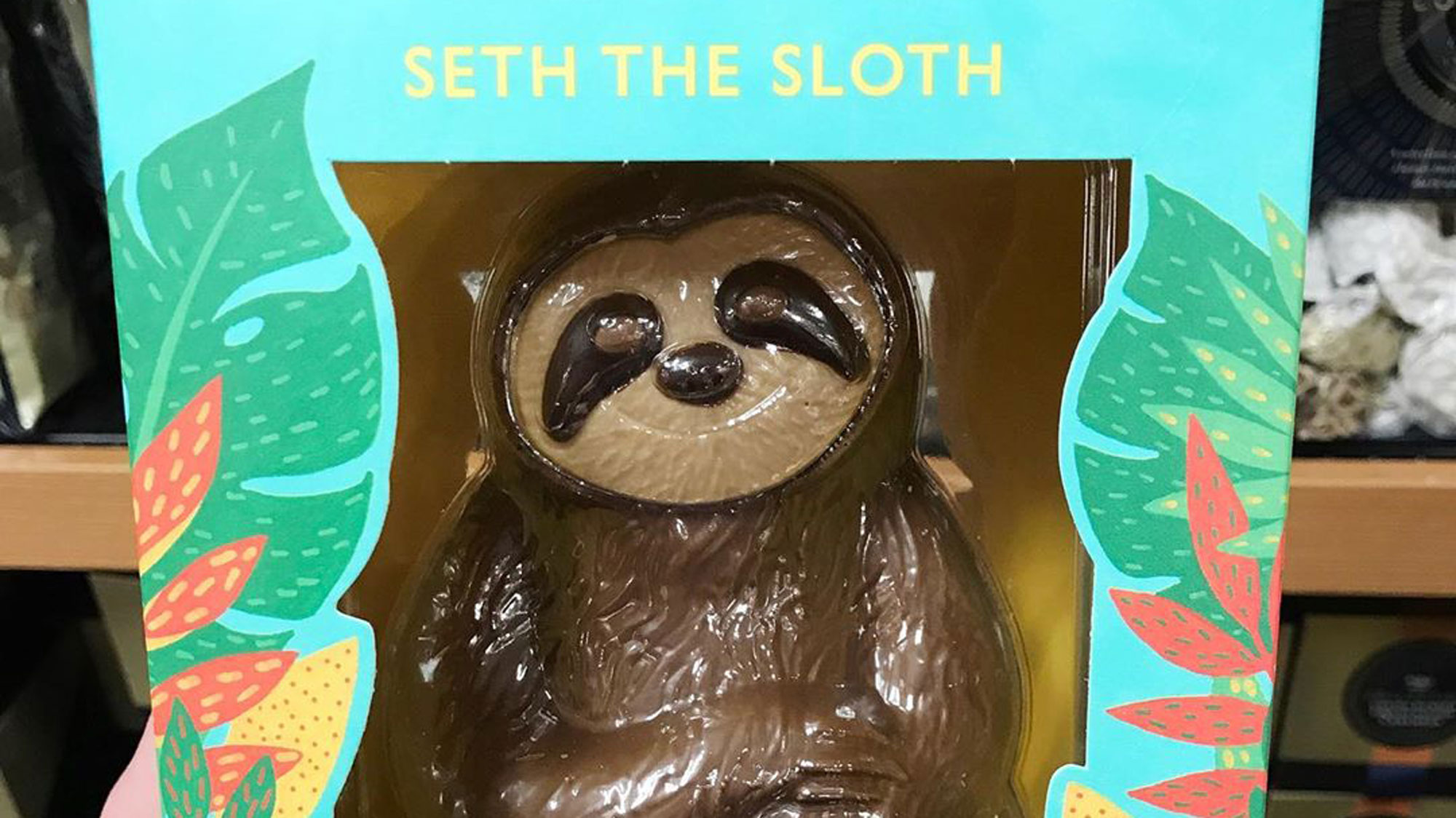 M&S have officially won Easter with their chocolate sloth | Marie Claire