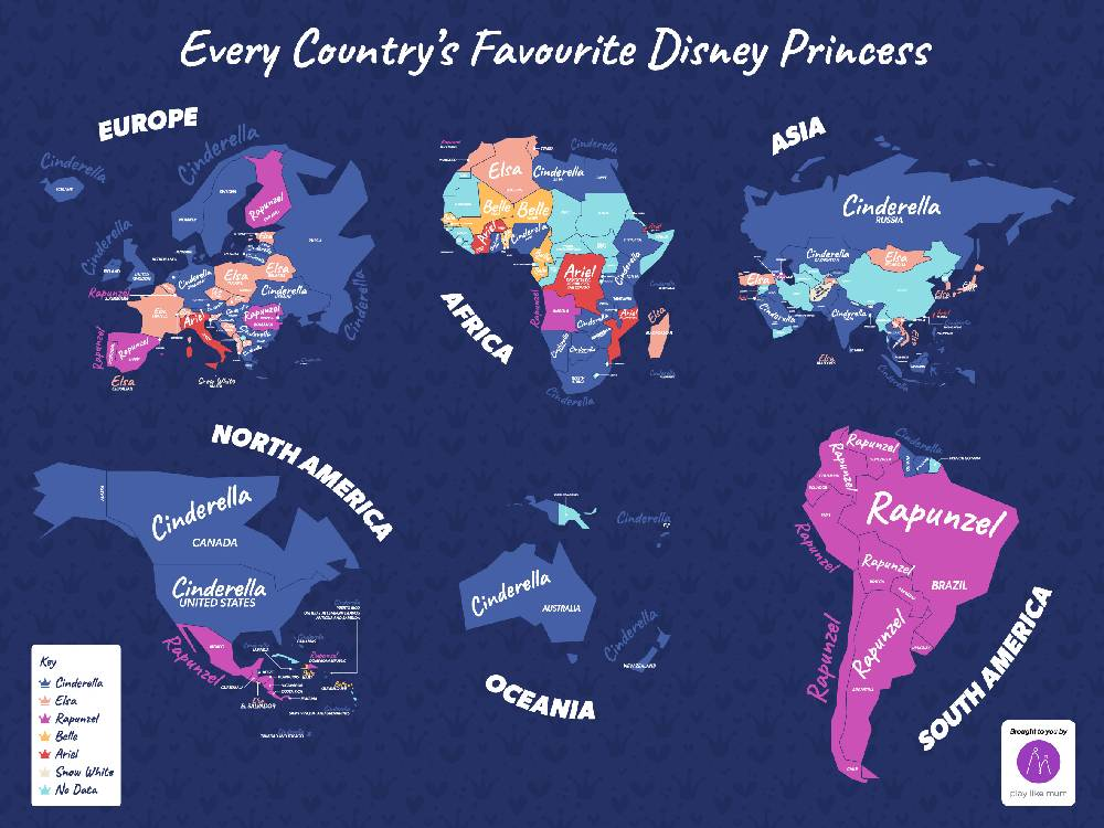 This Is The World S Most Popular Disney Princess Marie Claire