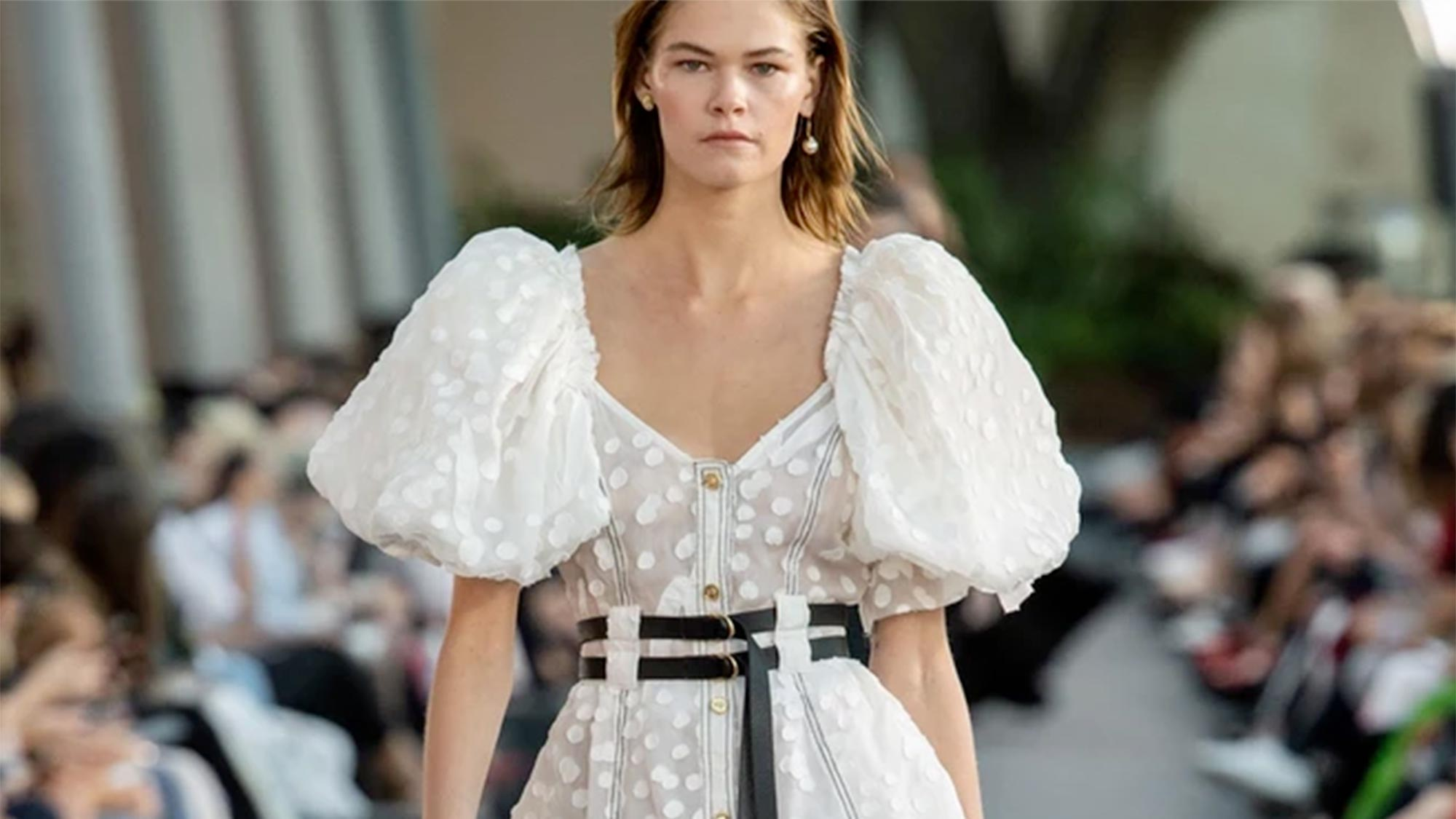 That dress that went viral last fashion week is now on sale | Marie Claire
