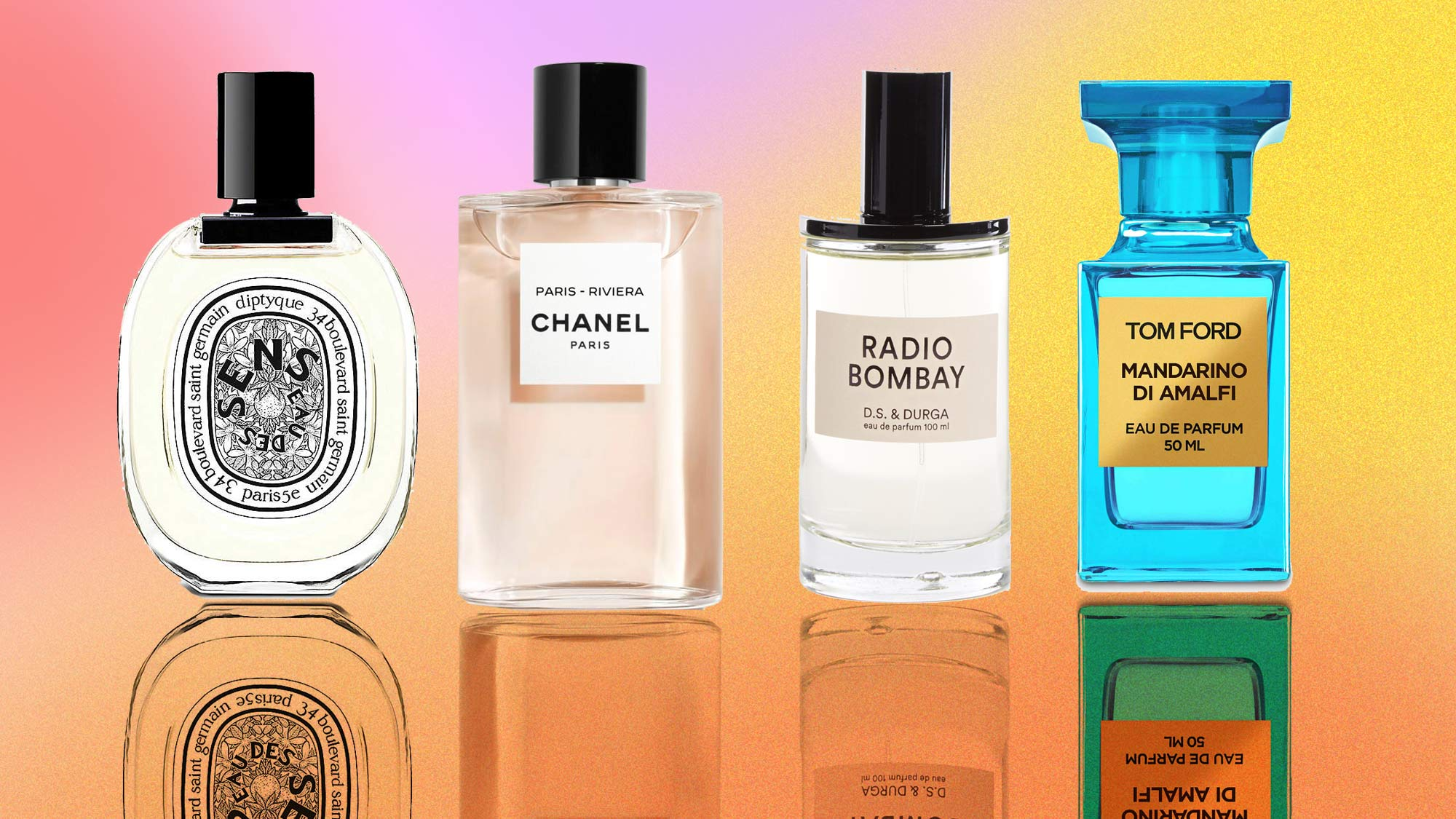 Fancy a dip? These fragrances offer the perfect dose of escapism and transport us to exotic locations. | Marie Claire