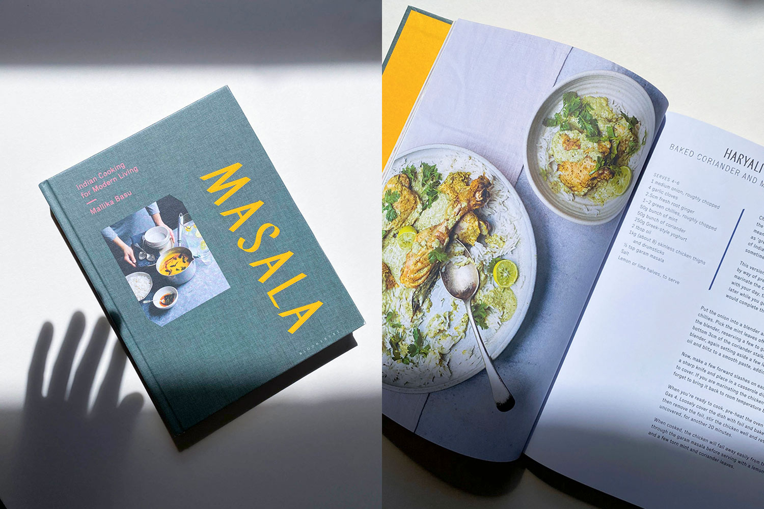 The Best Cookbooks: Masala, Indian Cuisine for Modern Living by Mallika Basu