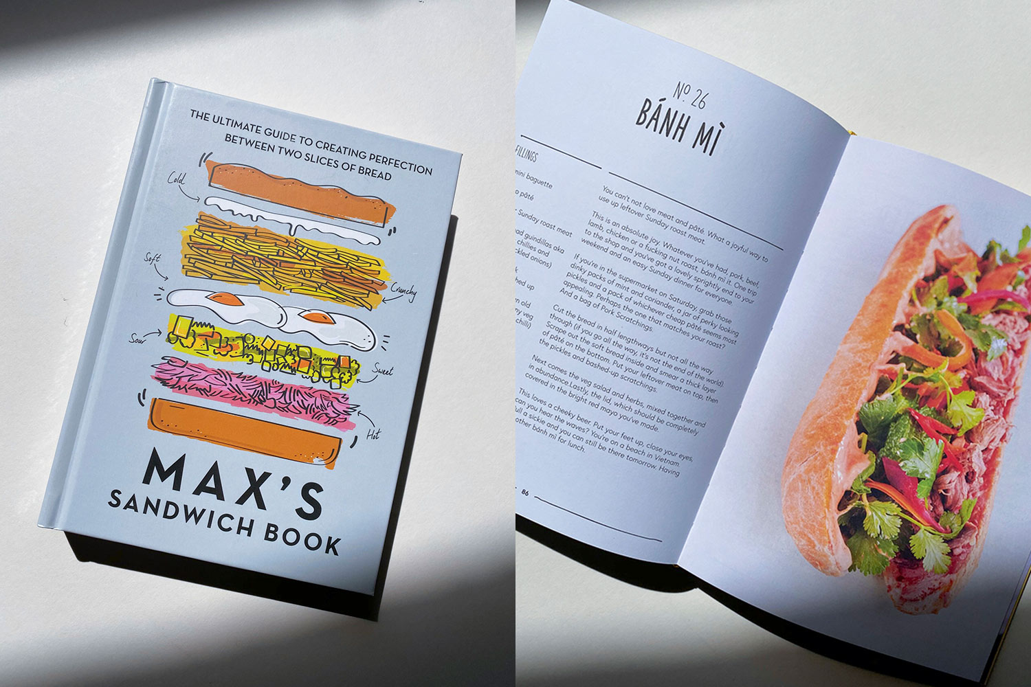 The Best Cookbooks: Max's Sandwich Book