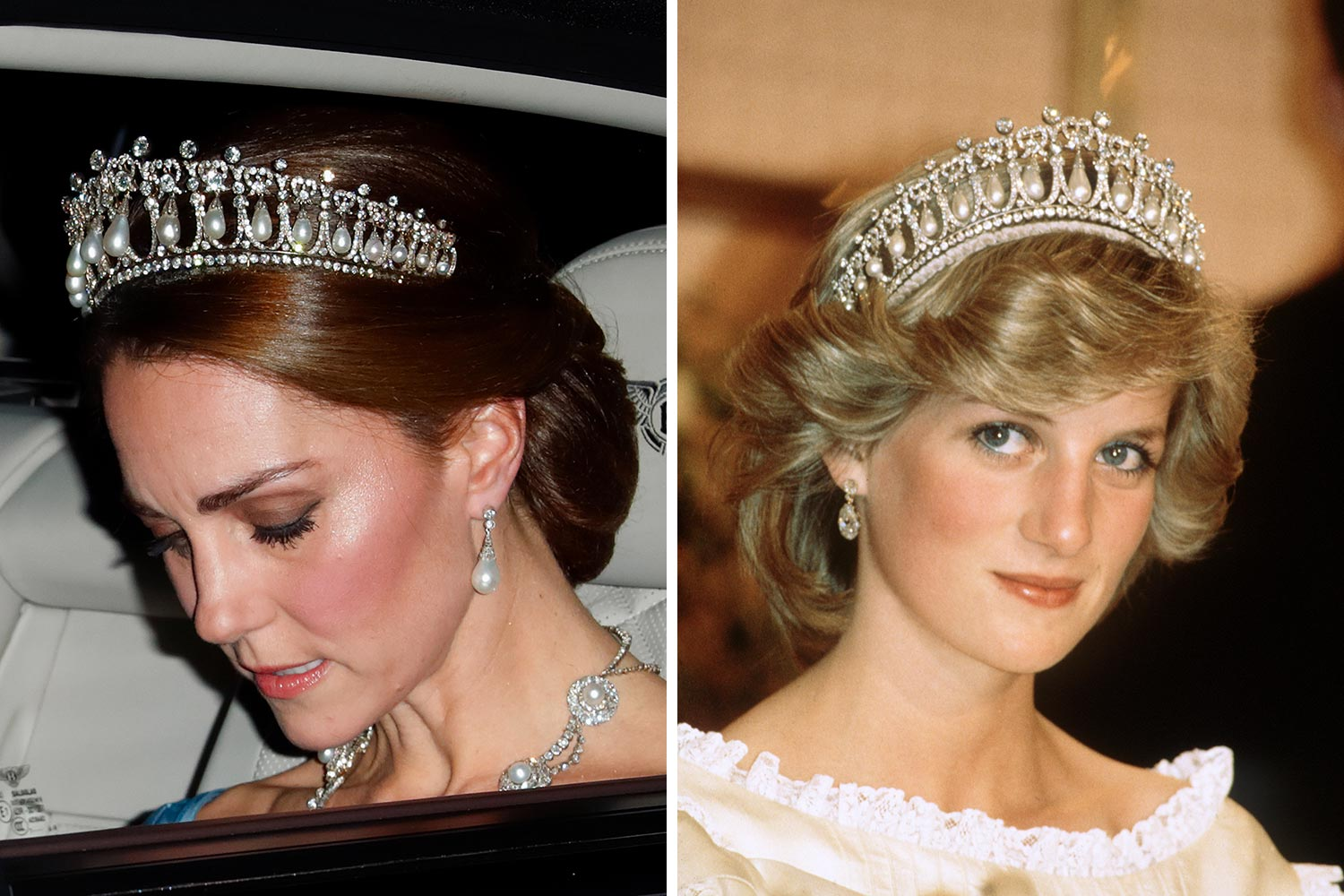 kate meghan inherited diana
