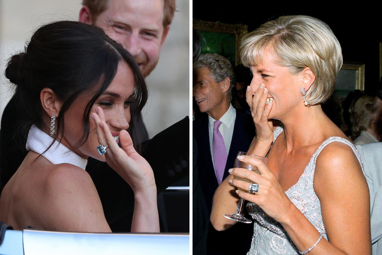 here s what kate middleton and meghan markle inherited from princess diana marie claire meghan markle inherited
