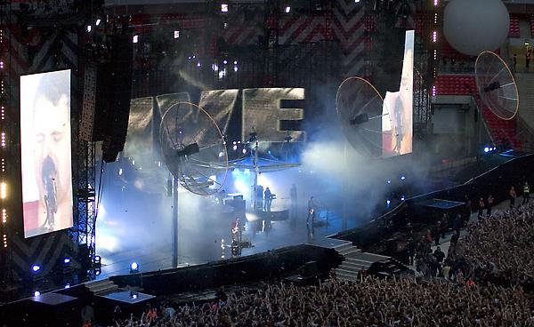 Muse Live Wembley