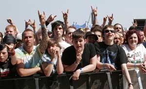 Download Festival 2007 kicks off at Donington - NME
