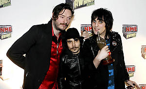 The Mighty Boosh, winners of best Tv ShowShockwaves NME Awards 2007 -  Media RoomHammersmith PalaisLondon,  Great BritainMarch 1, 2007Photo by Richard Lewis/WireImage.comTo license this image (12962897), contact WireImage:U.S. +1-212-686-8900 / U.K. +44-207-868-8940 / Australia +61-2-8262-9222 / Germany +49-40-320-05521 / Japan: +81-3-5464-7020+1 212-686-8901 (fax)info@wireimage.com (e-mail)www.wireimage.com (web site)