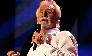 Kenny Rogers performs live on stage for day 3 of the CMA Music Festival Nightly Concerts held at LP Field, Nashiville.