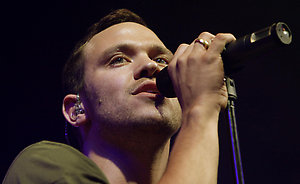 Will Young performs at the V Festival in Hylands Park, Chelmsford, Essex.