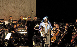 Anthony and the Johnsons live with the London Symphony Orcestra at the Barbican, 30.10.08.