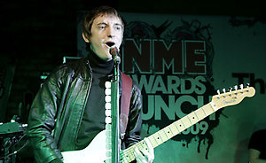 The Enemy @ the NME Awards Launch, Prince Pub, London. 26th November 2008.