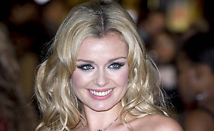 Katherine Jenkins arrives for the World premiere of 'Quantum Of Solace' at the Odeon Leicester Square in London.