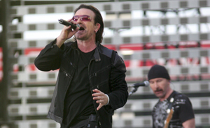 U2 play surprise gig in London - NME