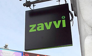 File photo dated 09/01/08 of the exterior store signage of a Zavvi store in Piccadilly Circus, London.