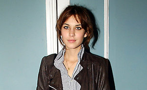 Alexa Chung at The Sony Walkman Party at Roost in London.