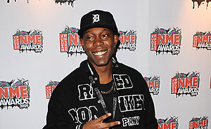 Dizzee Rascal arriving for the Shockwaves NME Awards 2009 at the 02 Academy, Brixton, London