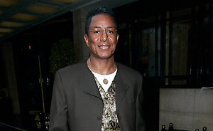 Jermaine Jackson spotted out in central London after attending the Wild Hogs premiere, March 28, 2007.