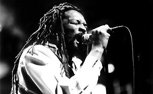 The late Lucky Dube in Concert plays the Ocean, LondonDate: 01.11.2001Ref: B236_106482_0002COMPULSORY CREDIT: Tim Holt / Starstock / Photoshot
