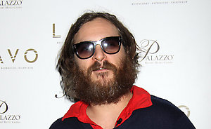 Joaquin Phoenix makes a special appearance at Lavo Nightclub in the Palazzo Hotel and Casino, Las Vegas.