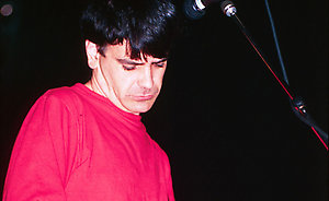 The Wedding Present performing live.