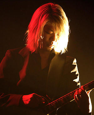 """James Iha of A Perfect Circle performing in support of the bands """"Mer De Noms"""" release. Event held at The Bill Graham Civic Auditorium in San Francisco California."""