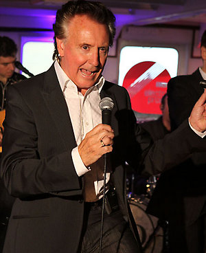 Picture shows:Tony Christie kicks off the BBC Electric Proms 2008 in Liverpool on a ferry crossing the Mersey