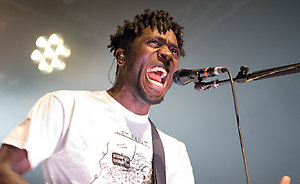 British indie rock band The Bloc Party @ The O2 Academy Glasgow