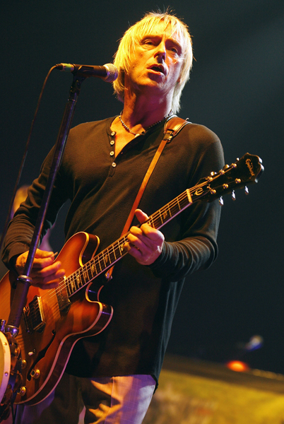 Paul Weller performs at The Carling Academy in Brixton, London