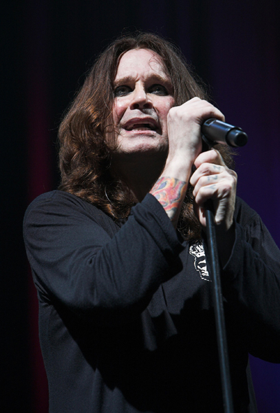 Ozzy Osbourne in concert at The NIA in Birmingham.