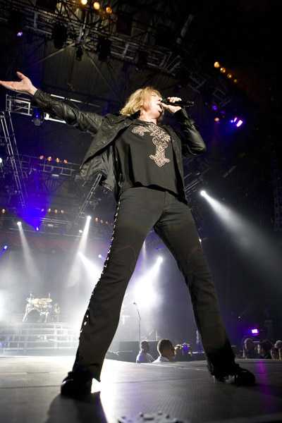 Def Leppard perform live in concert at the NEC Arena, Birmingham.