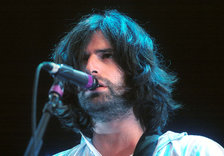 Pete Yorn opens up for the Foo Fighters at the Plaza Of Nations in Vancouver.