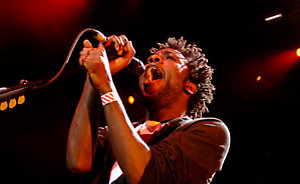 Bloc Party perform onstage for a Teenage Cancer Trust benefit concert, from the Royal Albert Hall, west London, Wednesday 29 March 2006. PRESS ASSOCIATION Photo. Photo credit should read: Yui Mok/PA