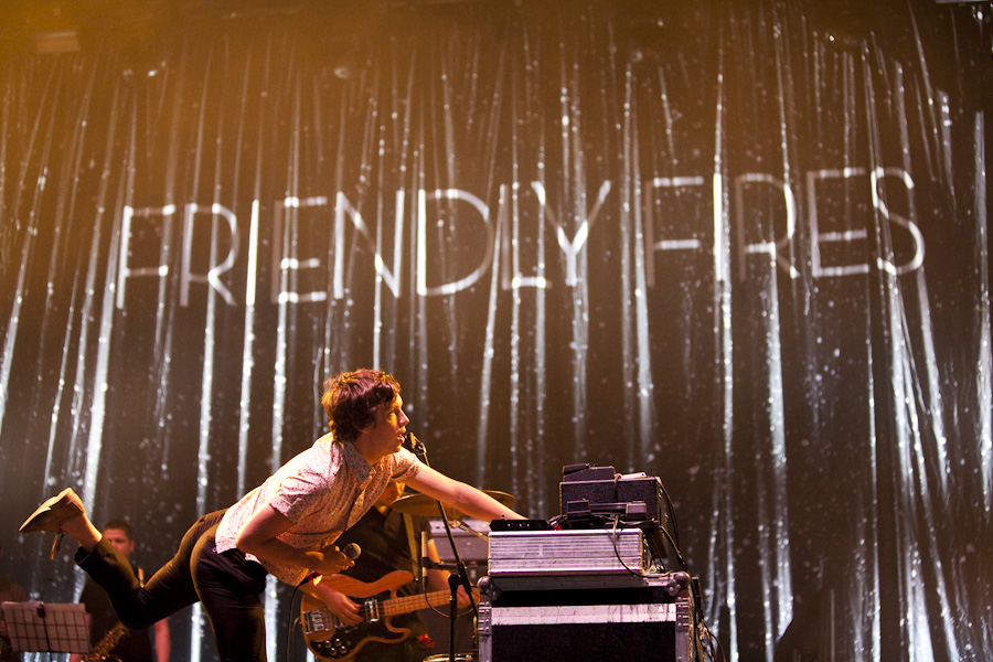 Frienfly Fires at T in the Park Festival 2009