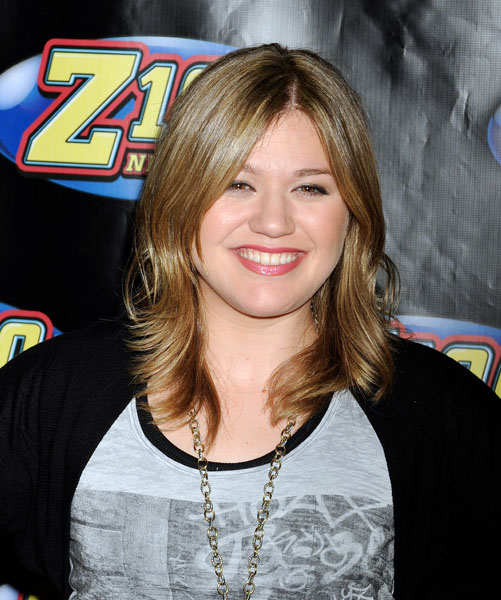 Kelly Clarkson in the press room during Z100's Zootopia 2009, held at the Izod Center in East Rutherford, New Jersey on Saturday, May 16, 2009.