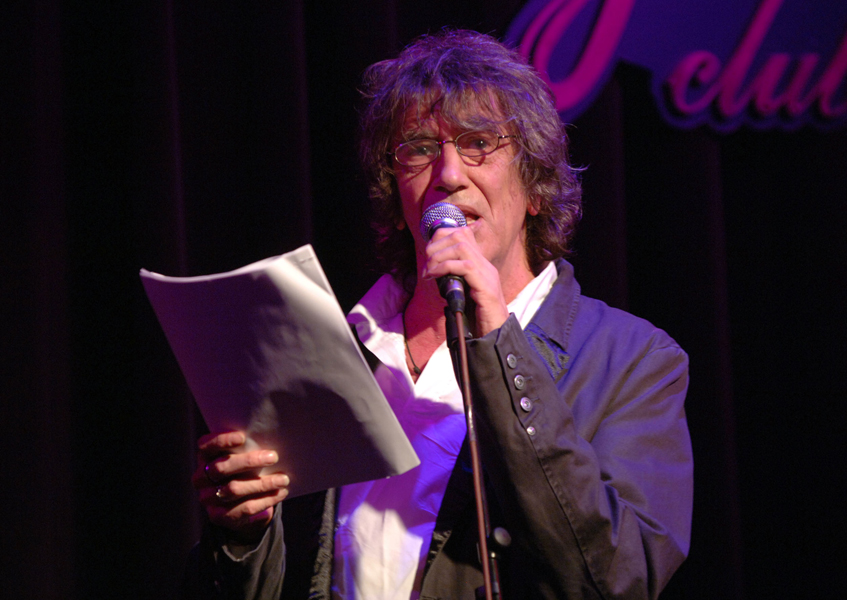Convicted drug dealer Howard Marks talks about his life during 'An Evening with Mr Nice', at Le Pigalle in central London.