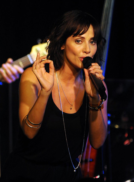 Natalie Imbruglia in concert at the Lexington on Pentonville Road, north London.